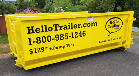 Bin rentals Campbell River and Courtenay