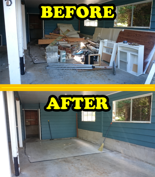 before-afgter-garage