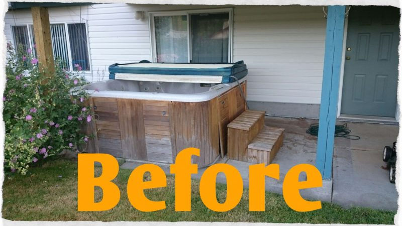 hot tubs removed